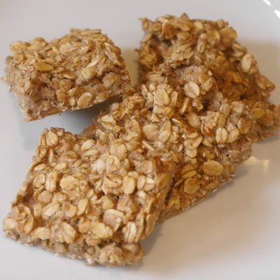 Banana & Honey Flapjacks