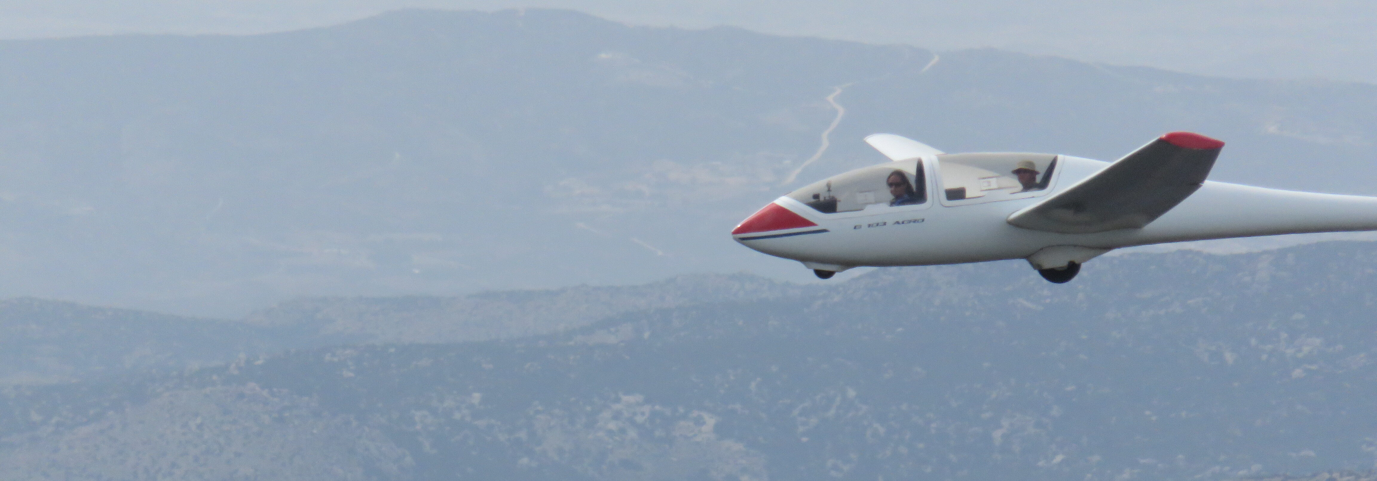 gliding over warner springs